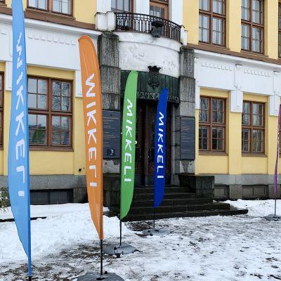 Kuvassa on Mikkelin kaupungintalo.