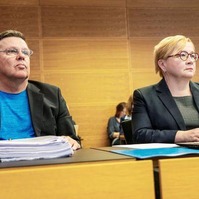 Jari Aarnio ja Riitta Leppiniemi