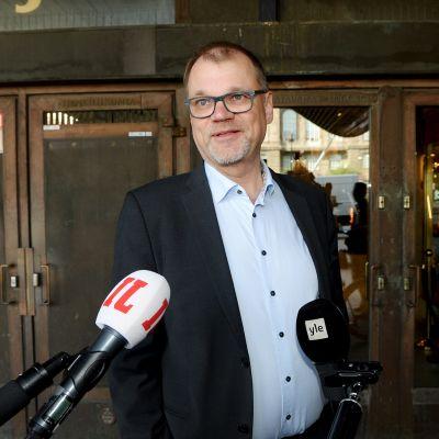 Kuvassa on Juha Sipilä kesäkuussa 2020.
