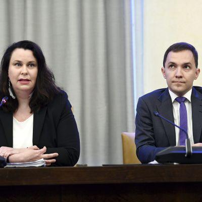Johanna Ojala-Niemelä ja Wille Rydman