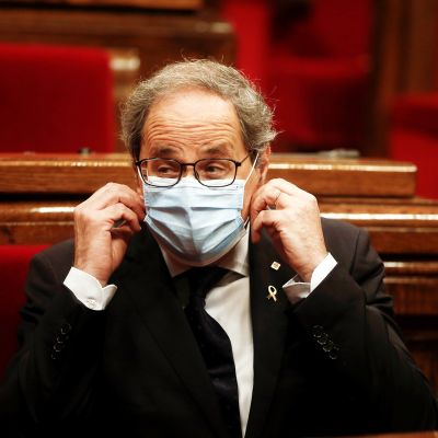 Katalonian presidentti Quim Torra