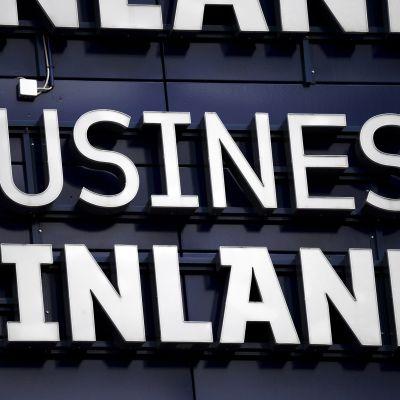 Kuvassa on Business Finlandin logo.