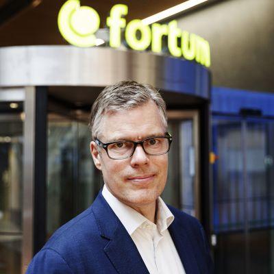 Fortumin uusi toimitusjohtaja Markus Rauramo Fortumin pääkonttorilla Espoossa 24. kesäkuuta 2020.