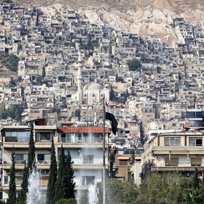 Kuvassa on Damaskos.