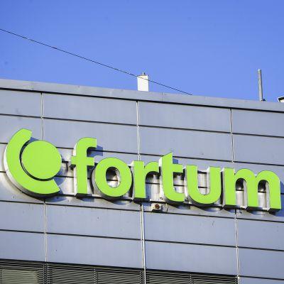 Energiayhtiö Fortumin pääkonttori Espoossa.
