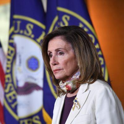 Yhdysvaltalainen poliitikko Nancy Pelosi.