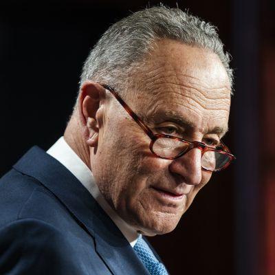 Yhdysvaltain senaatin vähemmistöjohtaja Chuck Schumer.