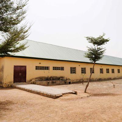 Koulu Nigerian Jangebessa.
