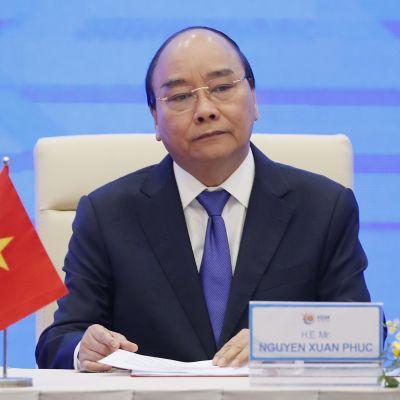 Pääministeri Nguyễn Xuân Phúc.