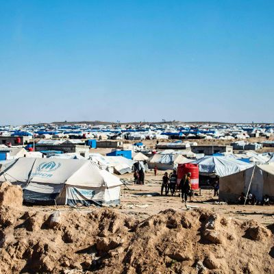 Al-Holin leiri maaliskuussa.