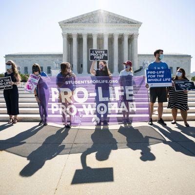 Mielenosoitus Washingtonissa.