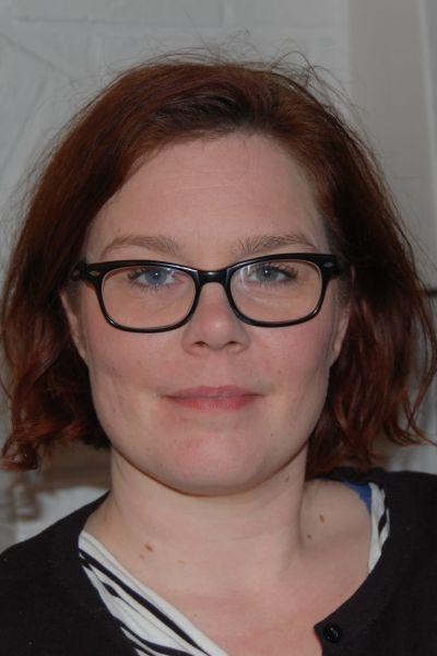 Författaren Jolin Slotte.