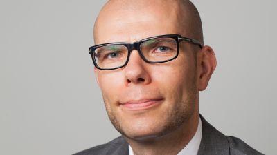 Professor Jussi Tapani vid Åbo universitet.