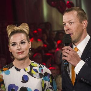 Finaalin karsinnan juonsivat Pia Pasanen ja Mikko Peltola.