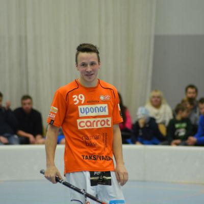 Rasmus Nyström och SB Vaasa har fått upp ångan, november 2015.