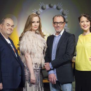 Johan Lindroos, Emma Sandström, Tomas Ek och Eva Frantz.