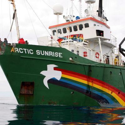 Greenpeacefartyget Arctic Sunrise.