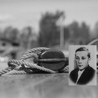 Krigshjälten och spritsmugglaren Arne Litz från Västanfjärd.