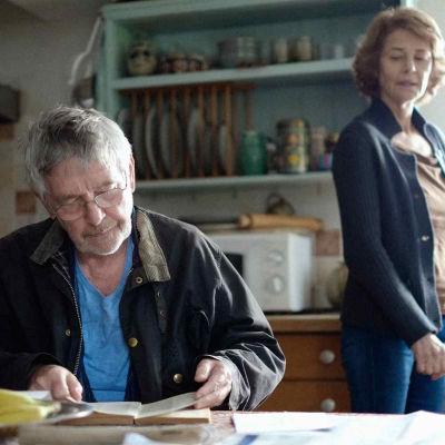 """Tom Courtenay och Charlotte Rampling i """"45"""""""