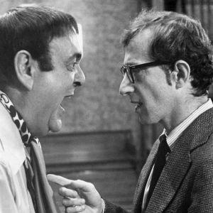 Zero Mostel ja Woody Allen elokuvassa Musta lista (The Front)