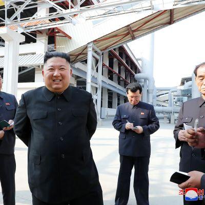Kuvassa on Kim Jong-un.