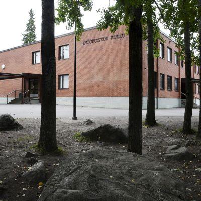 Kytöpuiston koulu Vantaan Havukoskella 21. syyskuuta 2020.
