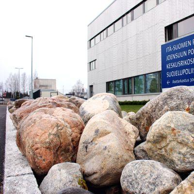 Joensuun oikeus- ja poliisitalo.