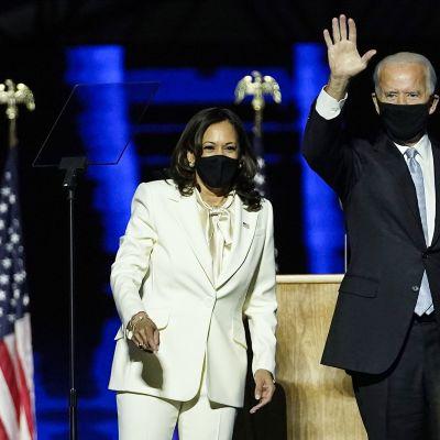 Presidentti Joe Biden ja varapresidentti Kamala Harris.