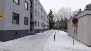 Höghus i Permo, Jakobstad.