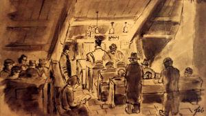 Ferdinand Bloch: Bön i synagogan