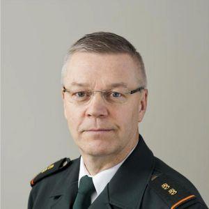 Gränsbevakningsväsendets tillträdande chef Ilkka Laitinen.