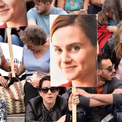 Jo Cox mielenosoitus