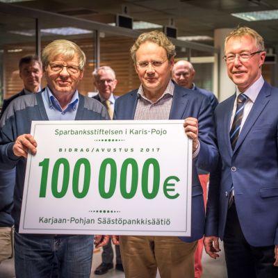 Matti Peltonen, Stefan Mutanen och Lasse Tallqvist.