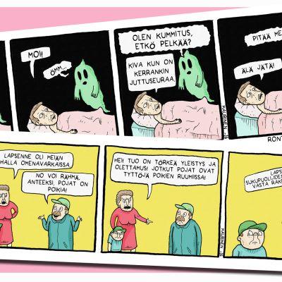 Rontticomics-sarjakuvia