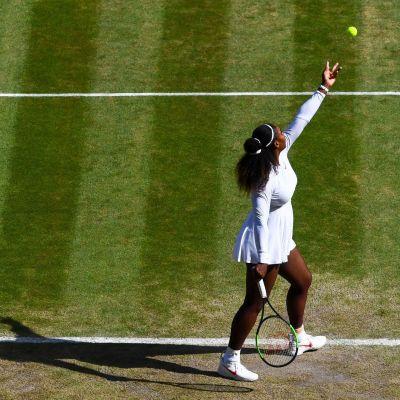 Serena Williams ei kuulu syöttökellon suurimpiin kannattajiin.