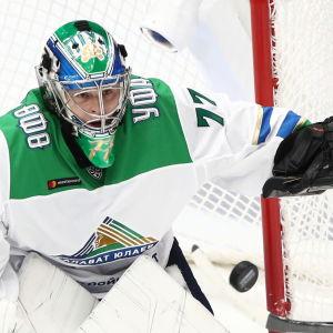 Juha Metsola spelar i KHL.