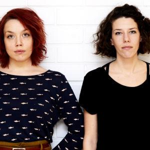 Lidia Bäck och Anna-Sofia Nylund.