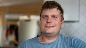 Gustav Hildén är bär- och grönsaksodlare i Ingå