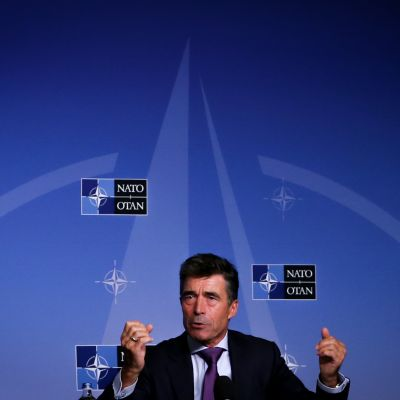 Natos generalsekreterare Anders Fogh Rasmussen