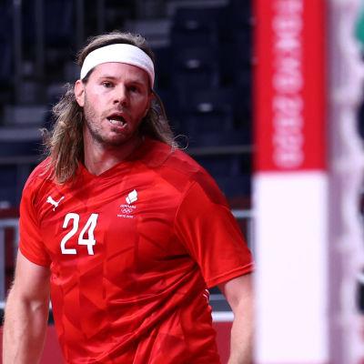 Danmarks Mikkel Hansen i OS.