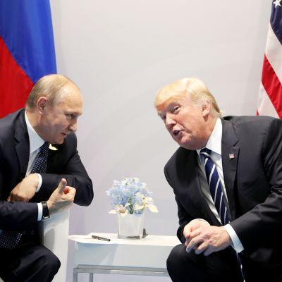 Vladimir Putin ja Donald Trump
