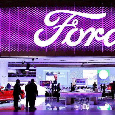 Fordin uusimpia malleja esillä Detroitin autonäyttelyssä vuonna 2016.