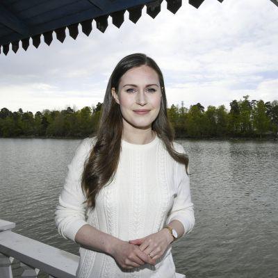 Kuvassa on pääministeri Sanna Marin.