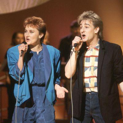 Ami Aspelund ja Riki Sorsa vuonna 1985.