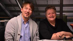 Peter Björkroth och Mona Söderblom.
