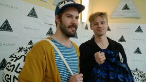 Thomas Löfström och Kristian Sjöholm