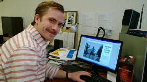 Studentbladets chefredaktör Julius von Wright.