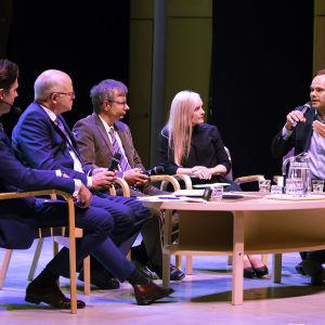 Asiantuntijat keskustelevat Suomen sisäisestä turvallisuudesta Mikkelin Päämajasymposiumissa.