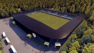 Fotbollsstadion i Seinäjoki.