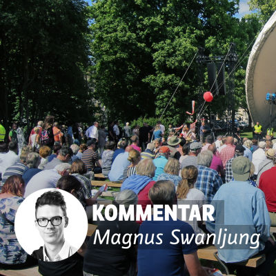 Magnus Swanljung byline på bild från Finlandsarenan